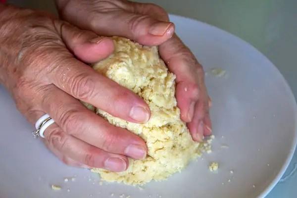 Pâte brisée à la fourchette- étape 8