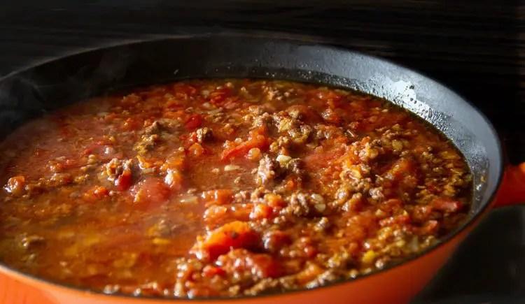 Ma sauce bolognaise à l'italienne