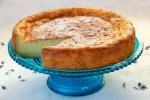 Gâteau au fromage blanc et citron vert