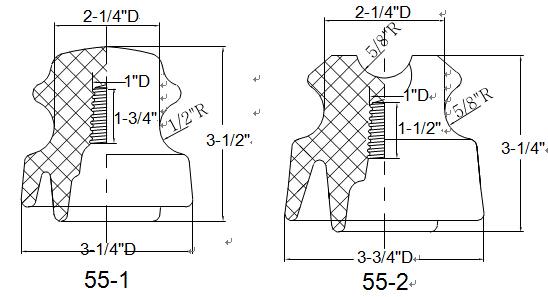 Orient-Low voltage and medium voltage pin type insulator