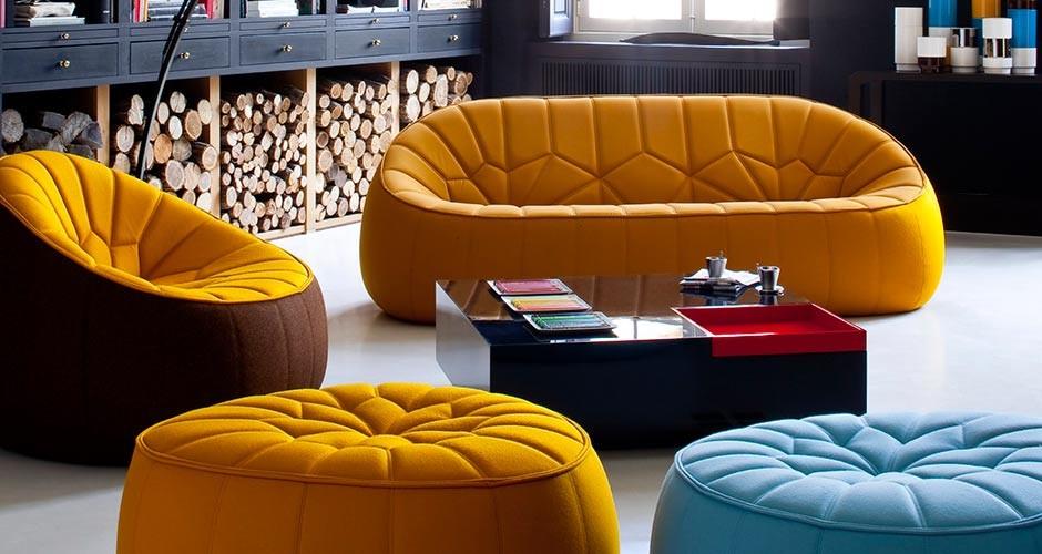 Ottoman by Ligne Roset  Modern Lounge Seating  Linea Inc