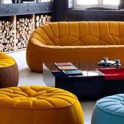 Sofa And Ottoman Leather Sets By Ligne Roset | Modern Sofas - Linea Inc ...