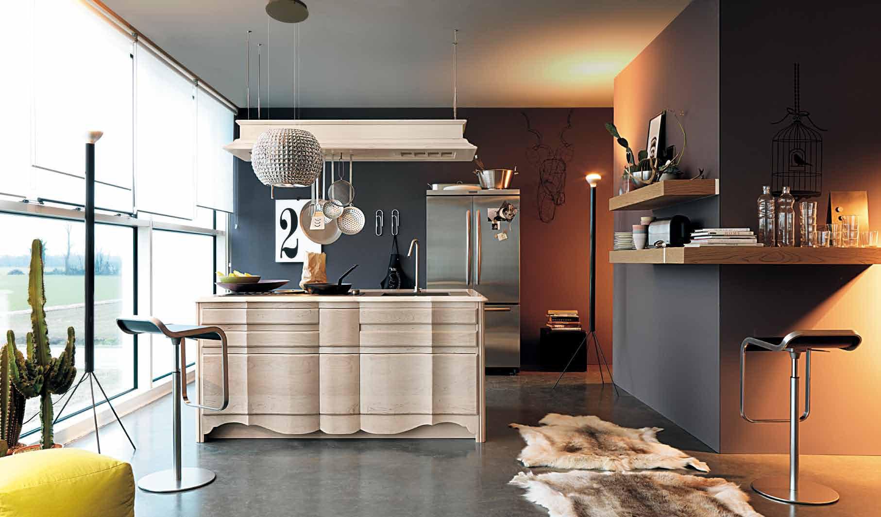 La cucina ad Isola - lineatre - kucita - gli esperti dell ...