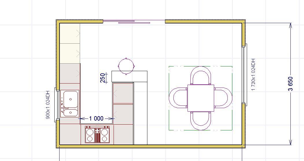 Tavoli Da Cucina Piccole Dimensioni.Una Penisola In Cucina Lineatre Kucita Gli Esperti Dell