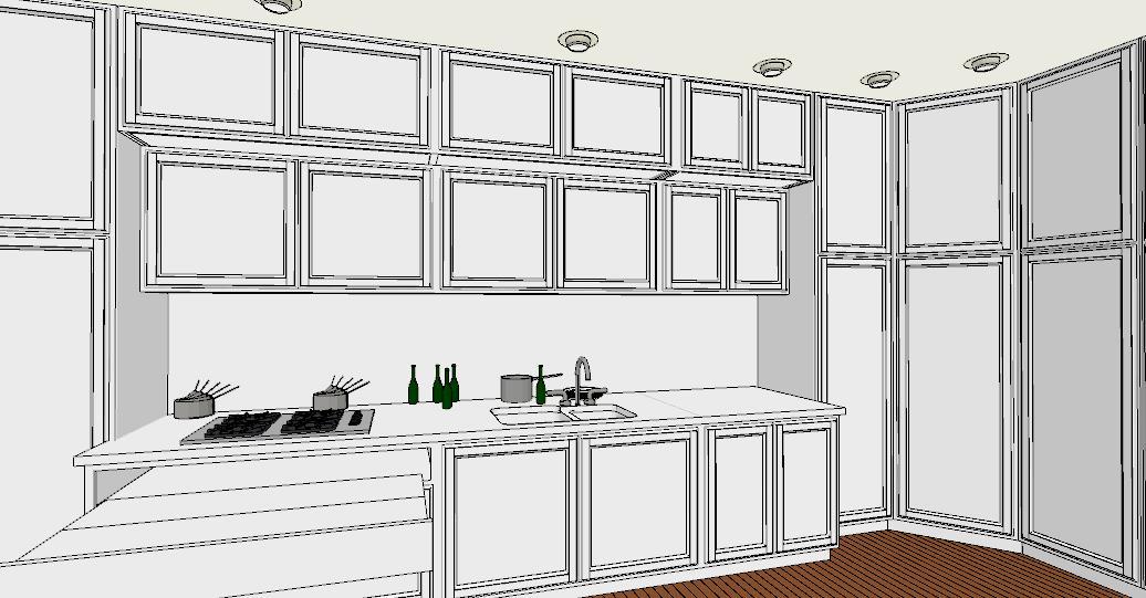 6 regole per una cucina perfetta lineatre arredamenti - Come progettare una cucina ad angolo ...