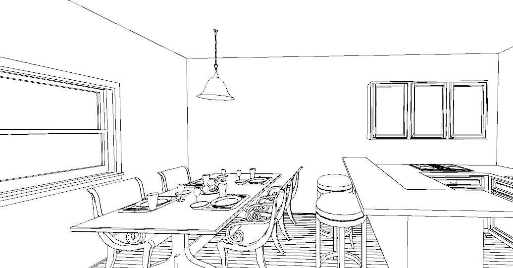 Una penisola in cucina lineatre arredamenti alberobello - Altezza tavolo cucina ...