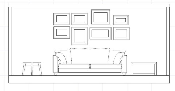 quadri linea centrale