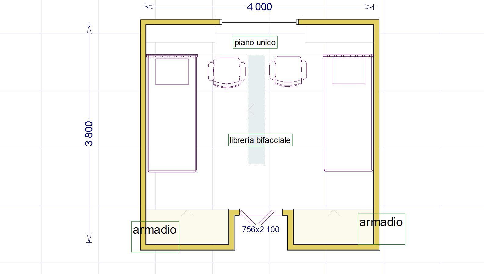 Dimensioni Finestre Camera Da Letto una cameretta per due con diritto di privacy - lineatre