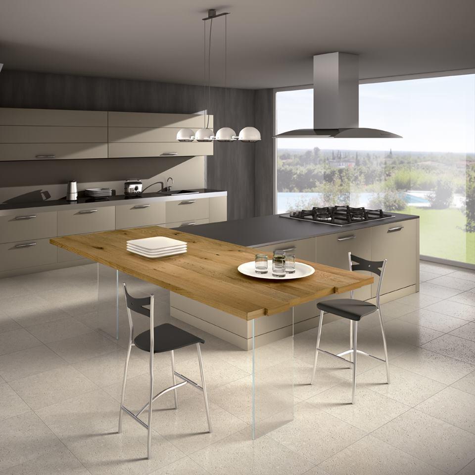 Quale top in cucina? il piano in legno - lineatre - kucita ...