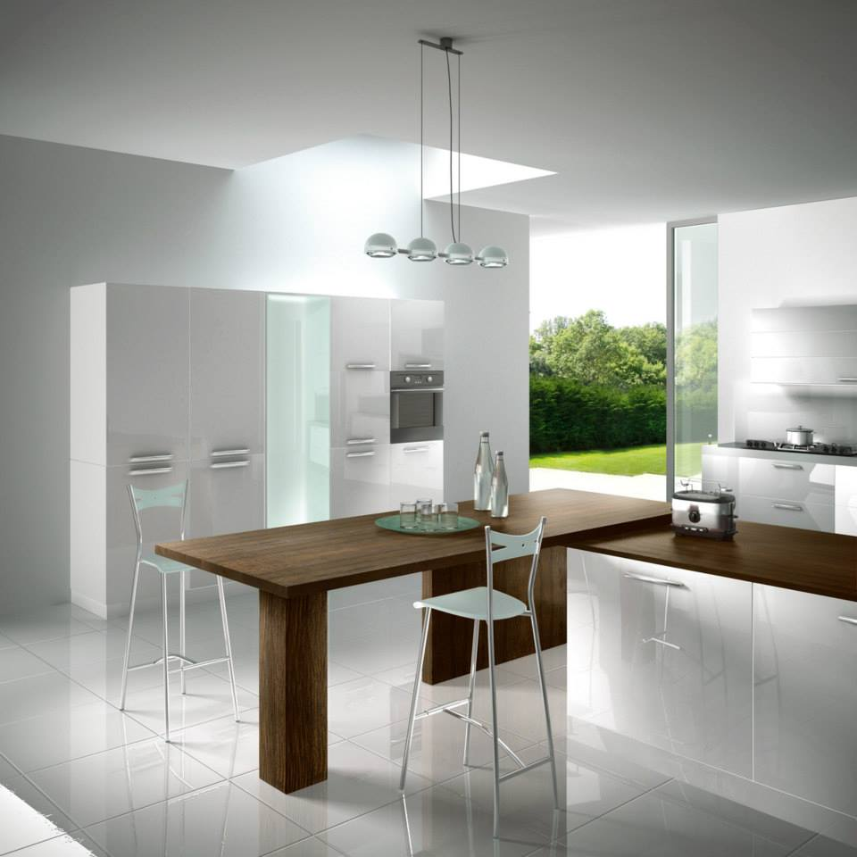 Quale top in cucina il piano in legno michele de biase - Plan de table cuisine ...