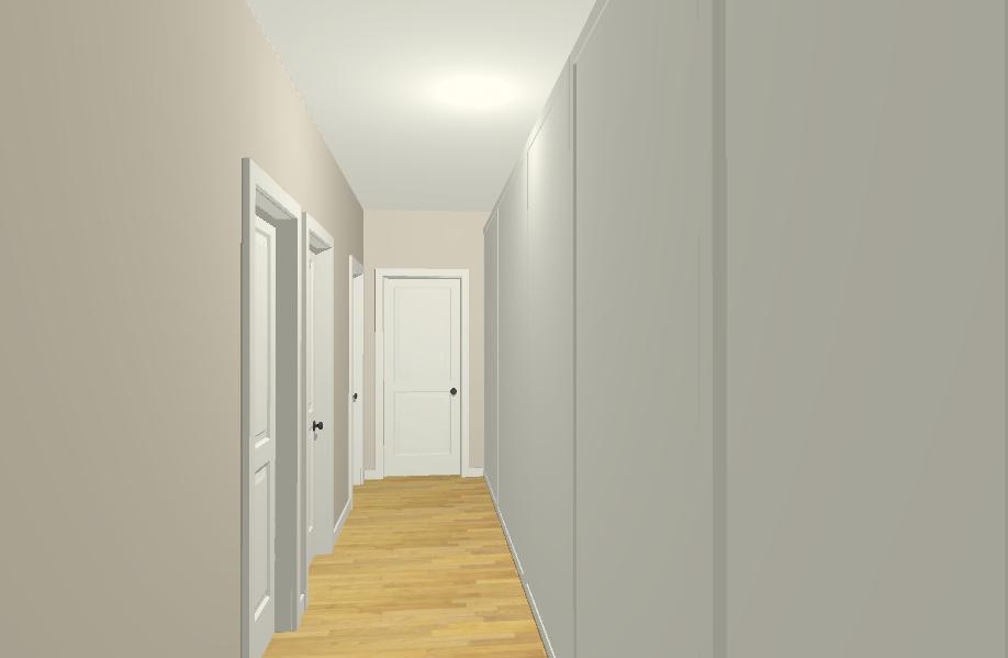 Arredare corridoio