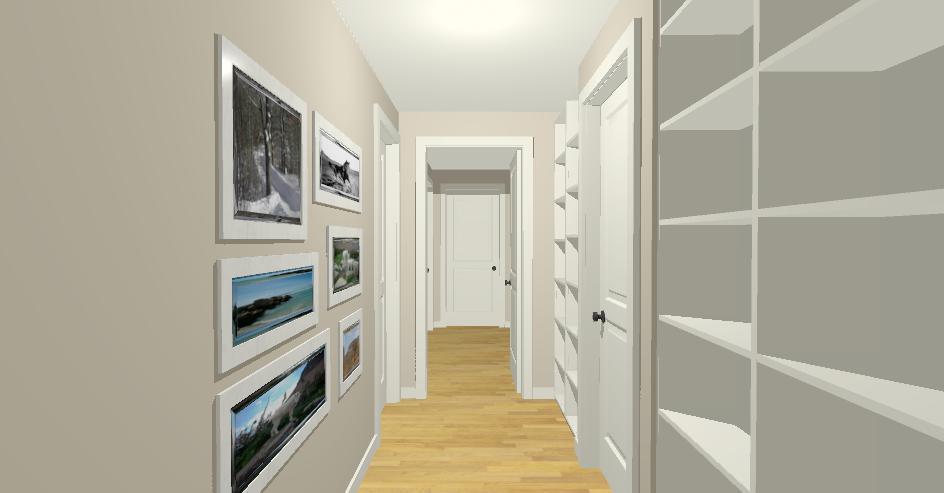 Come arredare un corridoio lineatre arredamenti alberobello for Arredare corridoio