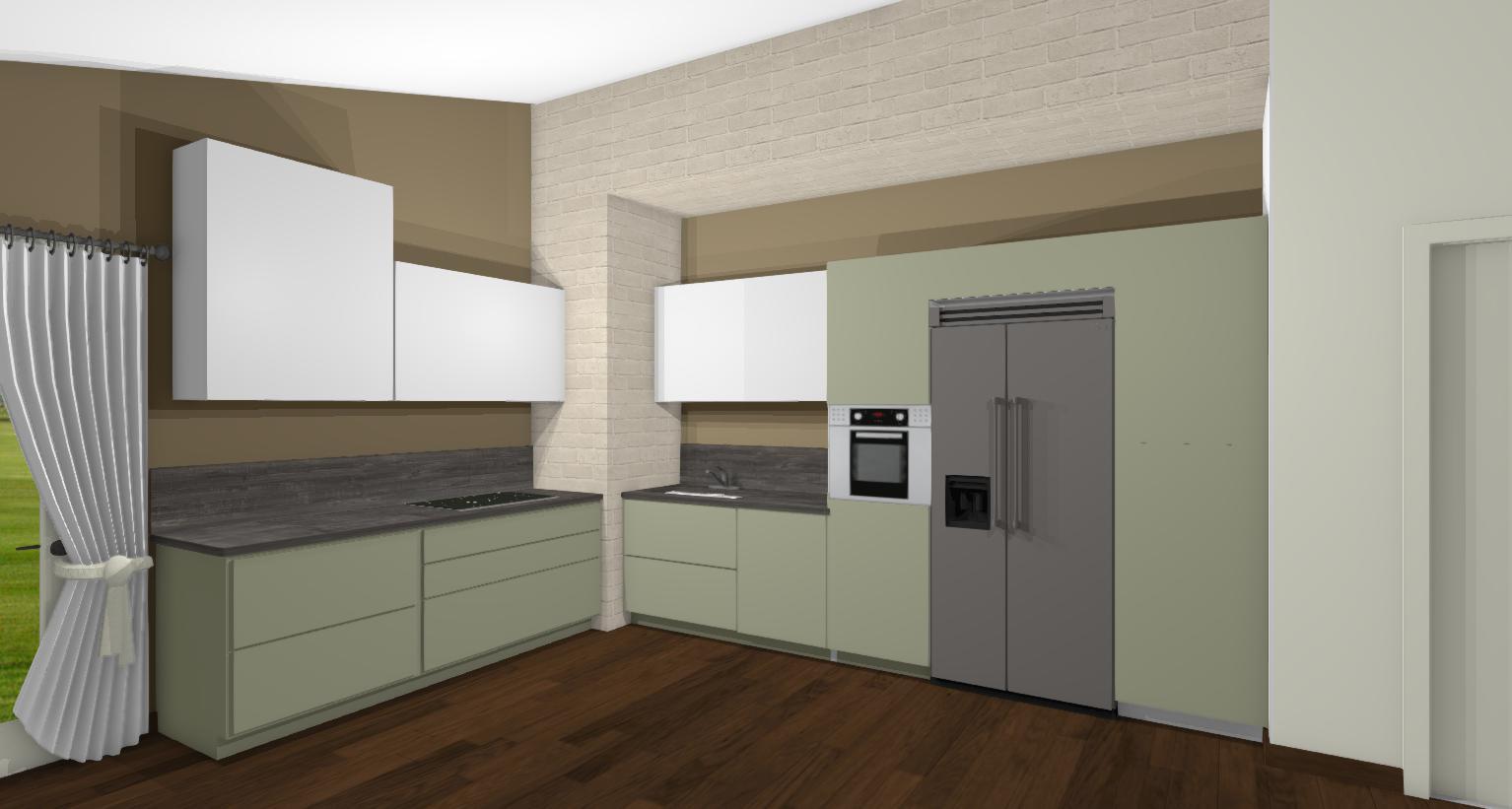Mensole In Cartongesso Ad Angolo come trasformare una cucina lineare in angolare - lineatre
