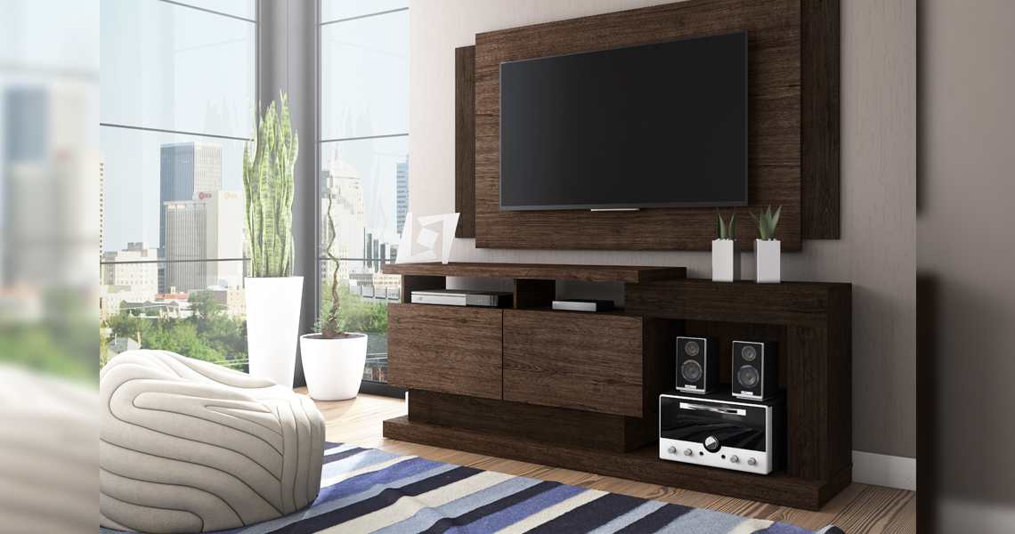 Mesa para TV hasta 50 Fusion Smart