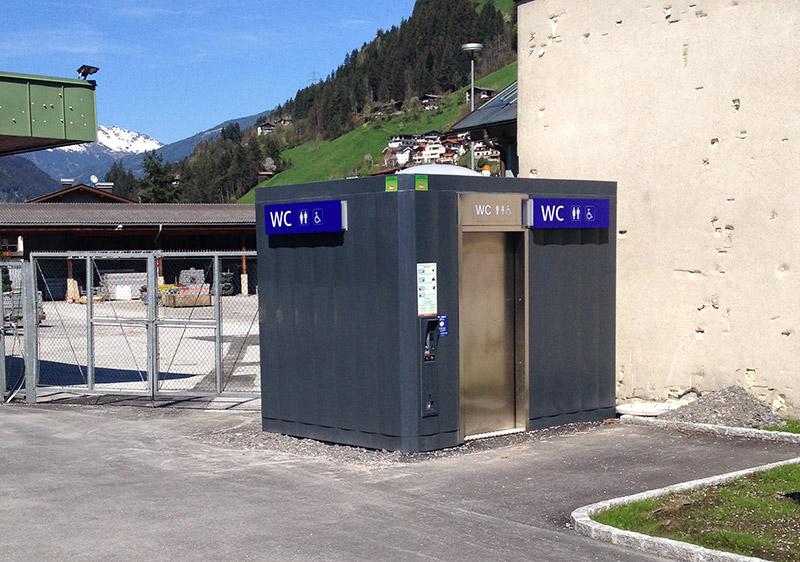Linea Citt  Automatic Urban Toilet