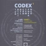 """""""CODEX / I CODICI DEL CONTEMPORANEO – Capitolo Primo"""""""