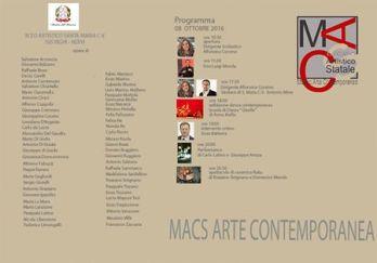 Apertura sabato 8 ottobre della nuova sede del Museo Macs a Santa Maria Capua Vetere, Caserta in Vico II Napoli, (Italia)