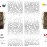 The Visual Art Gallery of the Università del Melo, will host from December 2nd, 2016 until January 27th, 2017 the international Mail Art Exhibit 'EARTH/RAW MATTER' designed and curated by Ruggero Maggi. With works by Gennaro Ippolito and Giovanna Donnarumma