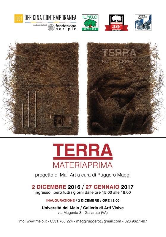 TERRA MATERIAPRIMA Progetto di Mail Art a cura di Ruggero Maggi