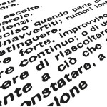 """Variazioni su """"FUORI"""" di Giuseppe Chiari"""