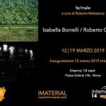 fe/male: Isabella Borrelli / Roberto Cavallini