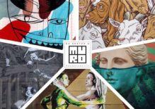 Da Sketch a MURo:  Jim Avignon, Lucamaleonte, Beau Stanton, David Diavù Vecchiato, Nicola Verlato