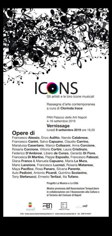 """""""ICONS"""" mostra collettiva"""