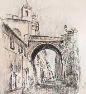 Roberto Di Costanzo: l'eccellenza italiana del disegno conquista Via Giulia