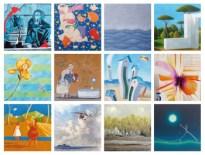 """""""Calendario 2020"""": 12 artisti alla galleria Mercurio Arte Contemporanea di Viareggio"""