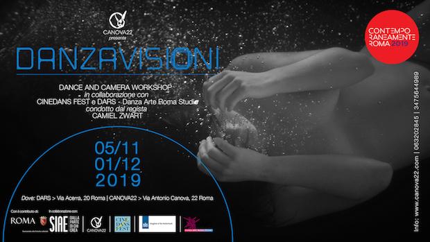 DANZAVISIONI – CINEDANS DANCE AND CAMERA WORKSHOP