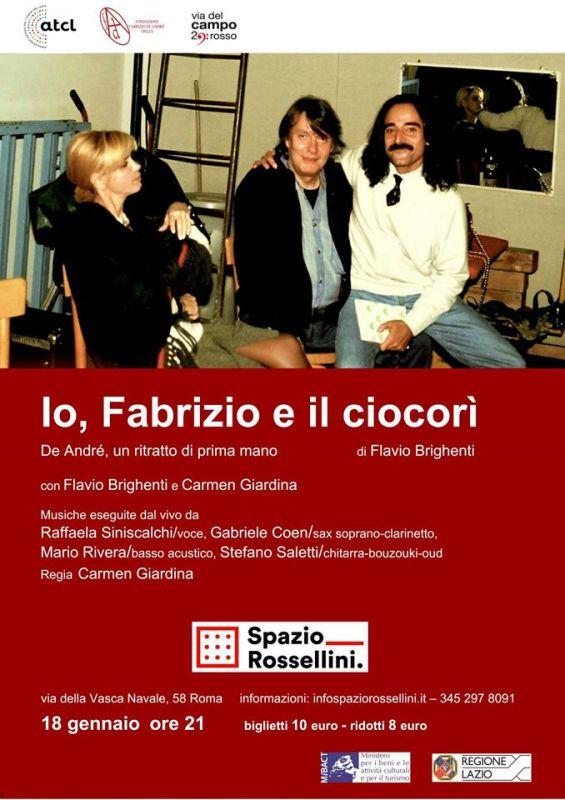 Io, Fabrizio e il ciocori, dirige Carmen Giardina