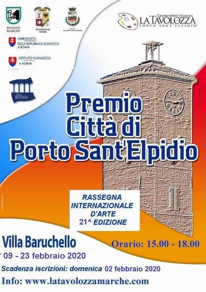 """21^ edizione del """"PREMIO CITTA' DI PORTO SANT'ELPIDIO(FM)""""."""