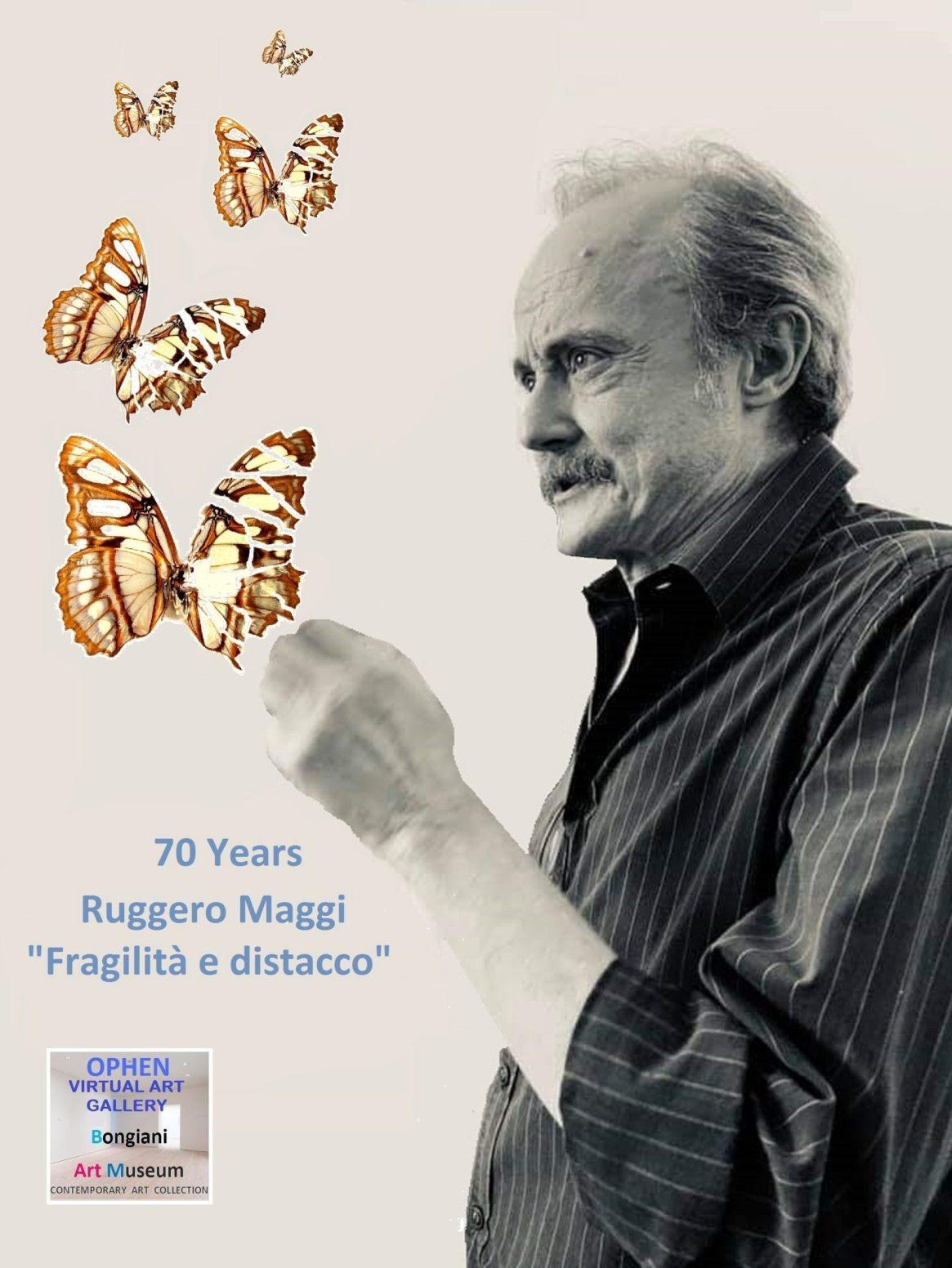 70 Years Ruggero Maggi, Fragilità e distacco, 2020