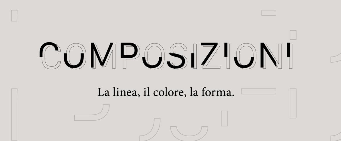 """""""Composizioni. La linea, il colore, la forma.""""  la nuova mostra Artrust 2021, è la prima nella storia della galleria d'arte con sede a Melano, realizzata per una fruizione esclusivamente virtuale."""