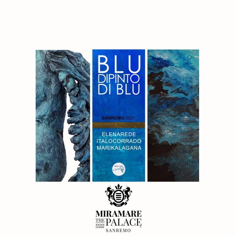 """""""Blu dipinto di blu"""" Mostra d'arte"""