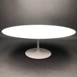 Table Tulipe Saarinen Knoll Ovale 198X121