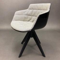 Flow slim chair Jean-Marie Massaud MDF