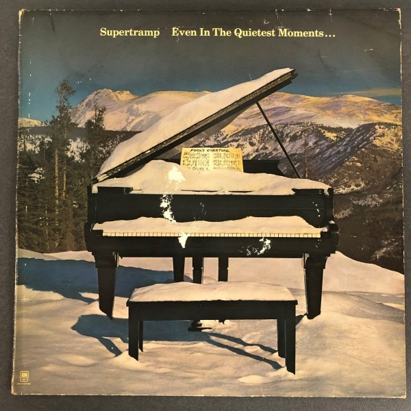 Album Supertramp Even in the quietest moments