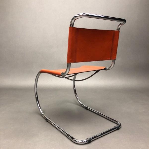 Lot de 4 chaises MR10 Mies Van Der Rohe Knoll