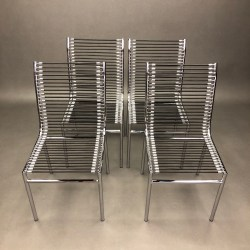 Lot de 4 Chaises Highback Sandows Chair René Herbst