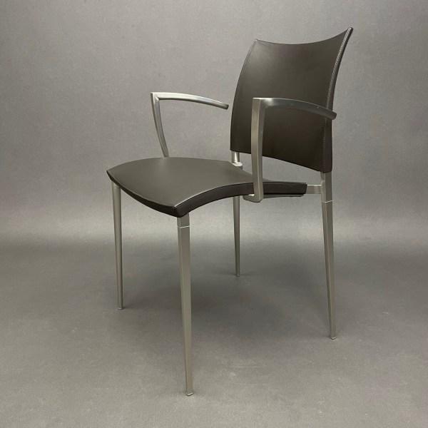 Lot de 2 fauteuils Sand Cuir Dondoli e Pocci Desalto