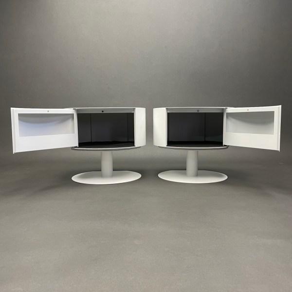 Paire de table de chevet BonBon Lapo Ciatti Opinion Ciatti