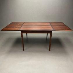 Table Møbelfabrik Danemark  en Palissandre Svend Erik Jensens