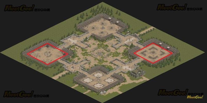 國王的狩獵場 地圖