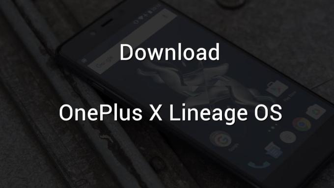 OnePlus X Lineage OS