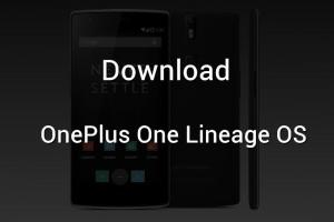 oneplus one Lineage OS