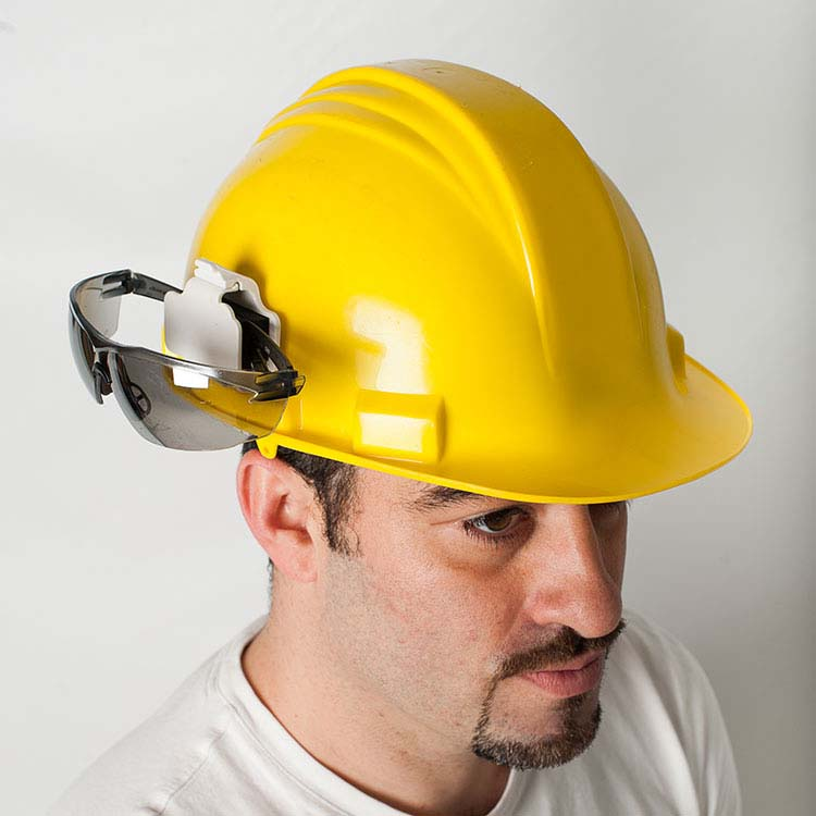 Safety Glasses Hard Hat Holder  10429