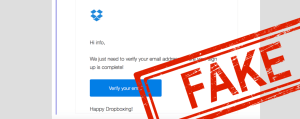 phishing email dropbox