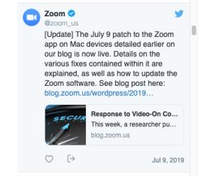 zoom tweet
