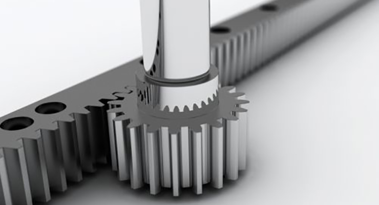 how to size a rack and pinion drive